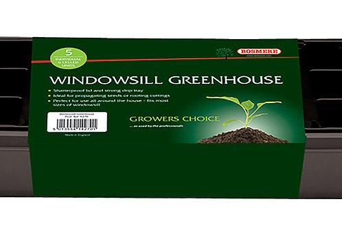 Window Sill Greenhouse Black (Growers Choice)