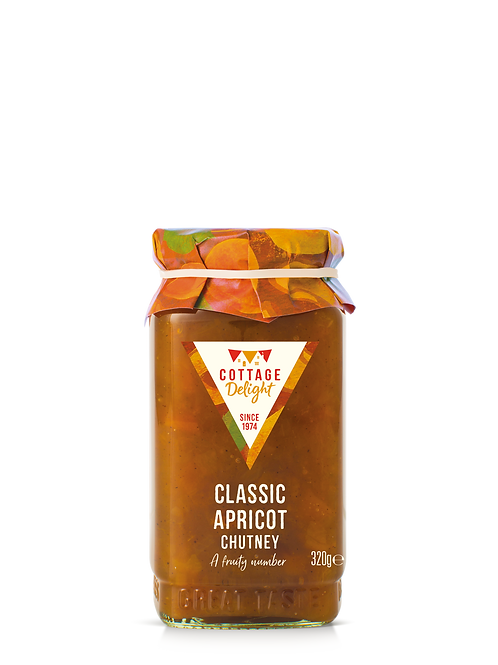 Cottage Delight Classic Apricot Chutney