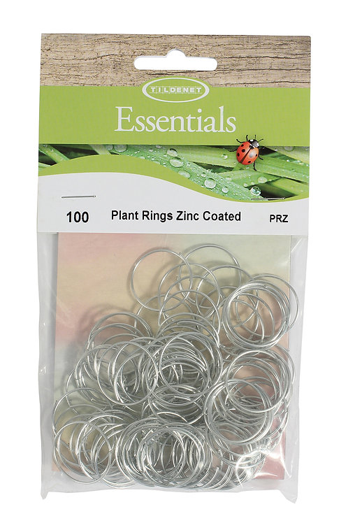 Plant Rings Zinc Coated