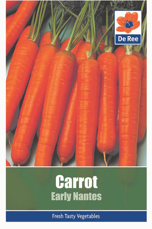 Carrot Early Nantes (De Ree Seeds)