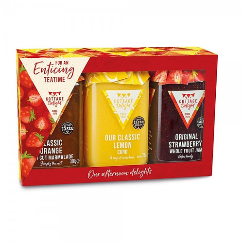 Cottage Delight For An Enticing Teatime Gift Set
