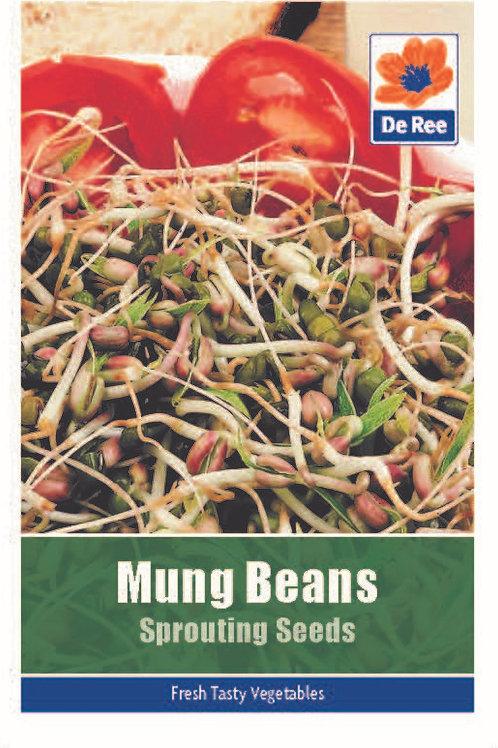 Mung Beans Sprouting Seeds (De Ree Seeds)