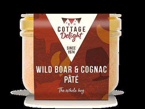 Cottage Delight Wild Boar & Cognac Pate 190g