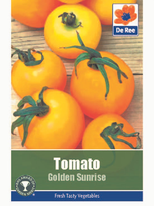 Tomato Golden Sunrise (De Ree Seeds)