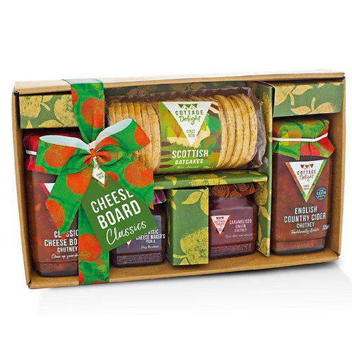 Cottage Delight Cheese Board Classics Gift Set