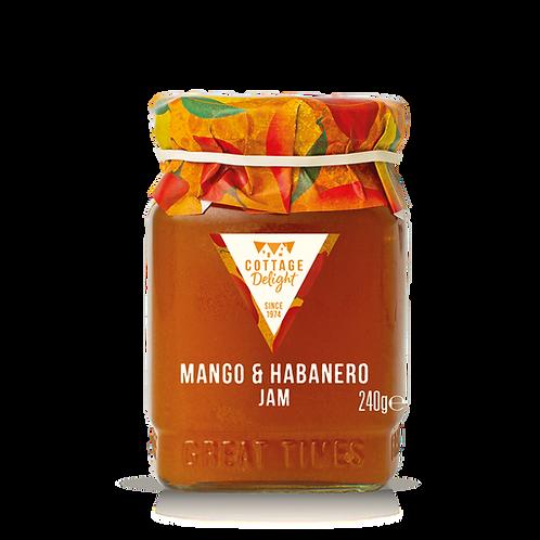Cottage Delight Mango & Habanero Jam 240g
