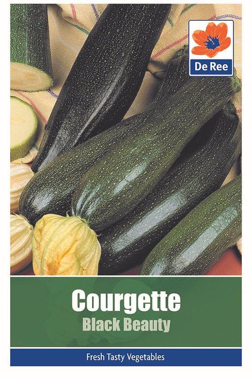 Courgette Black Beauty (De Ree Seeds)