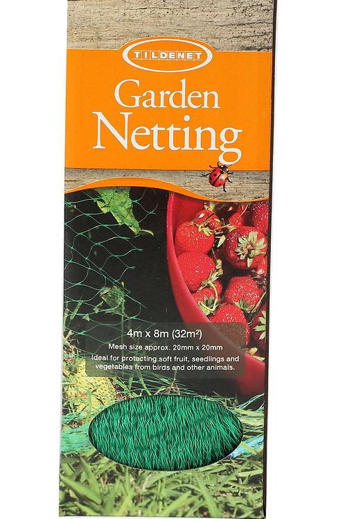 Green Garden Netting 4m x 8m Boxed (Tildenet)