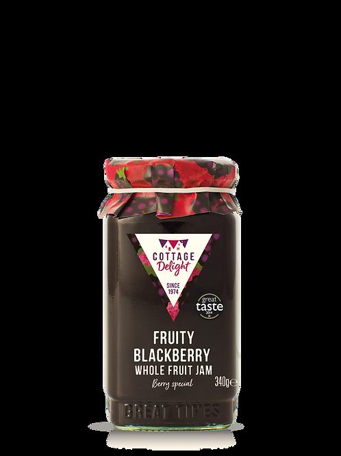 Cottage Delight Fruity Blackberry Whole Fruit Jam 340g