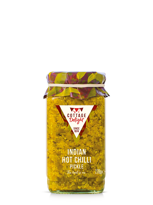 Cottage Delight Indian Hot Chilli Pickle 270g