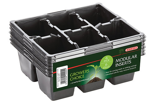 Modular Inserts 6 x 6 (Pack of 6) (Growers Choice)