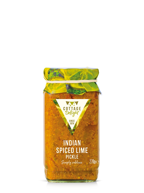 Cottage Delight Indian Spiced Lime Pickle 270g