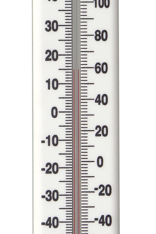 Wall Thermometer (White)