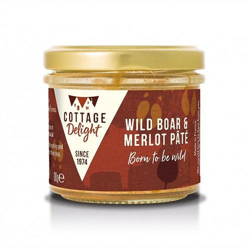 Cottage Delight Wild Boar & Merlot Pate 90g