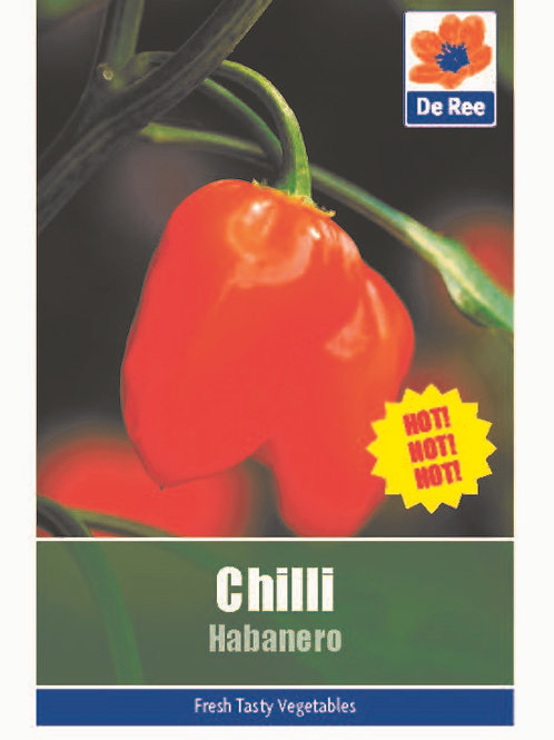 Chilli Habanero (De Ree Seeds)