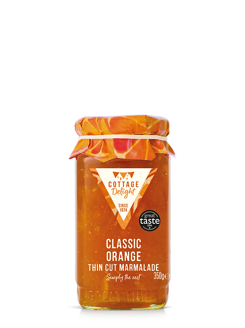 Cottage Delight Classic Orange Thin Cut Marmalade 350g