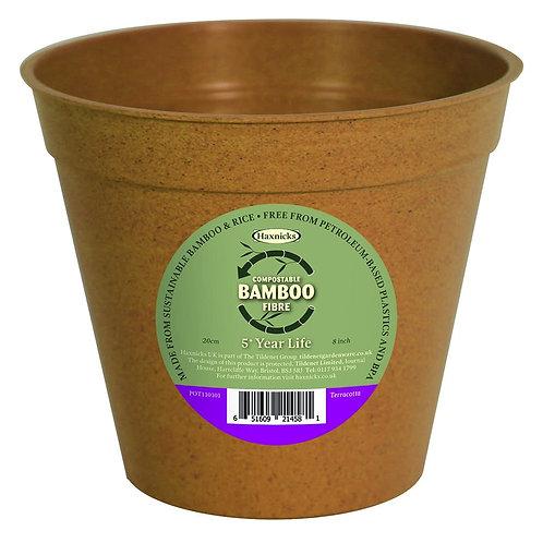 """8"""" Bamboo Pot (Haxnicks)"""