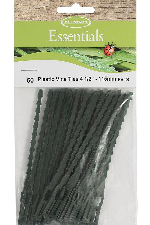 """Plastic Vine Ties 4 1/2"""" (115mm)"""