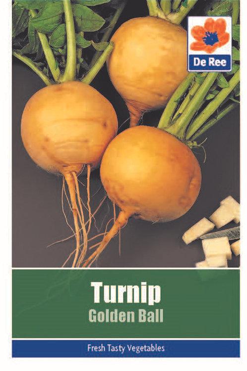 Turnip Golden Ball (De Ree Seeds)