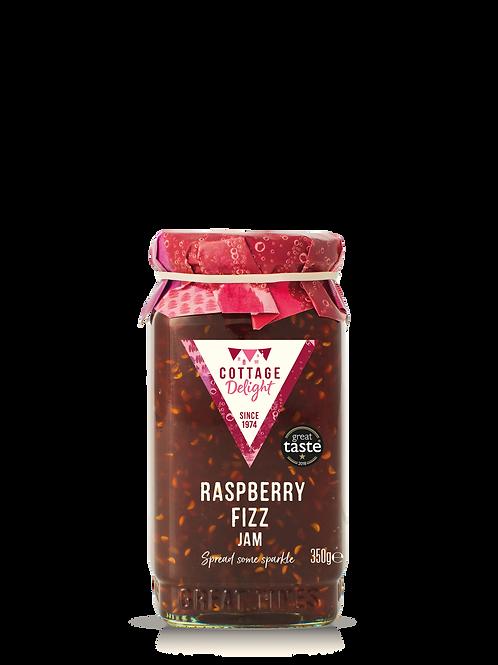 Cottage Delight Raspberry Fizz Jam 350g
