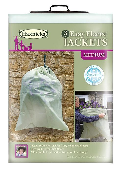 Easy Fleece Jacket Medium - Pack of 3 (Haxnicks)