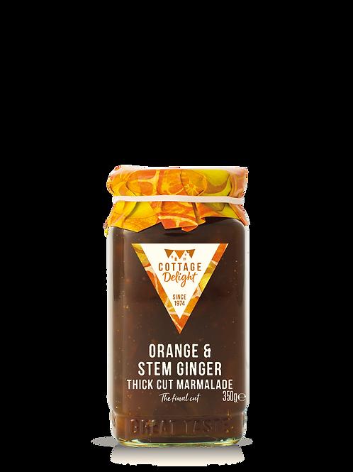 Cottage Delight Orange & Stem Ginger Thick Cut Marmalade 350g