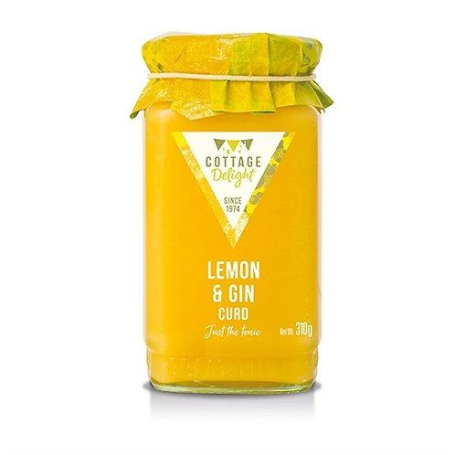 Cottage Delight Lemon & Gin Curd 310g