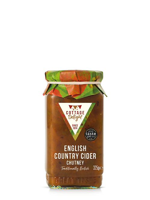 Cottage Delight English Country Cider Chutney 325g