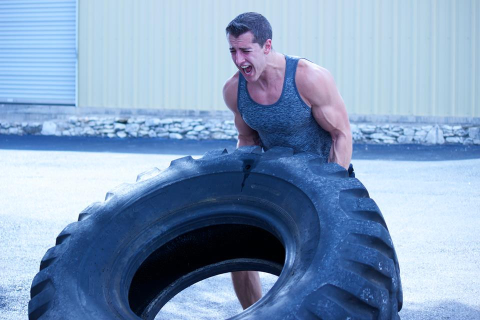personal trainer in austin, tx tire flip