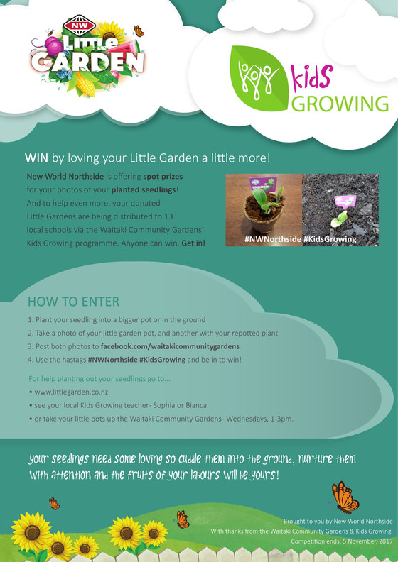 New World Little Gardens Competition
