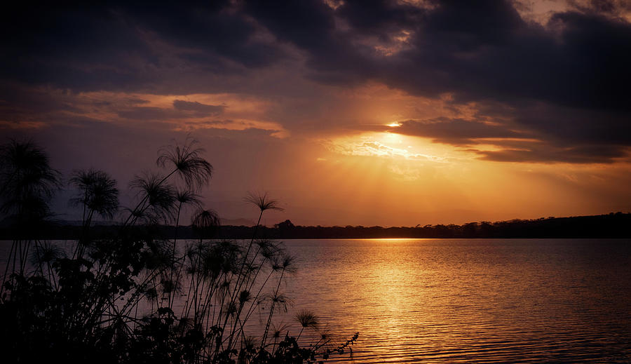 Sundowners on Lake Naivasha