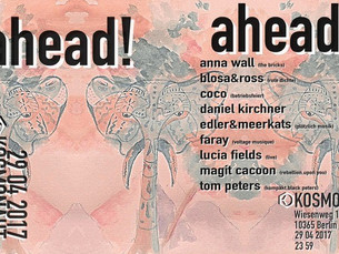 ahead! w/ Magit Cacoon and Anna Wall April 29