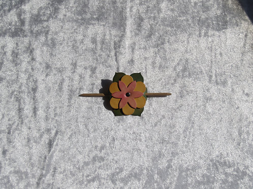 Barrette pique fleur modèle unique