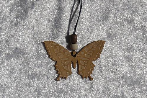 Collier papillon personnalisable