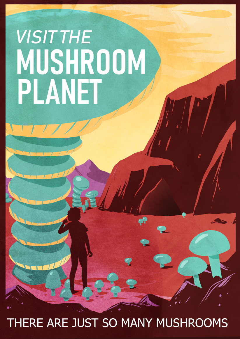 visit the mushrooms