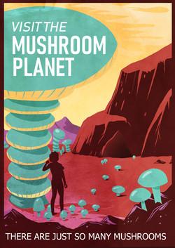 visit the mushrooms