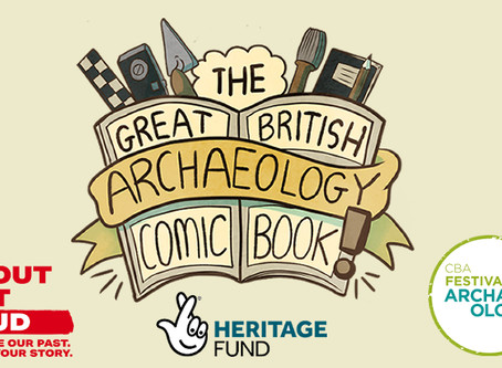 The Great British Archaeology Comic Book