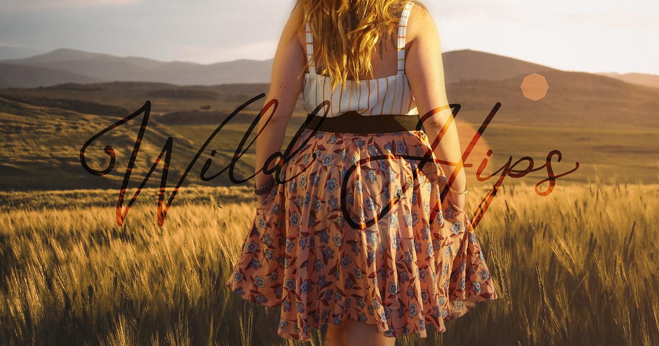Wild Hips Banner Skirt