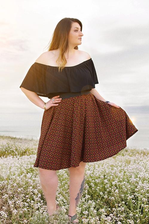 Ophelia Circle Skirt