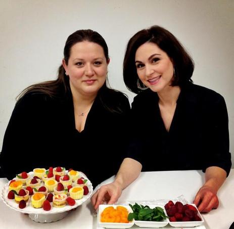 Sabrina Falone and Kyla Eaglesham