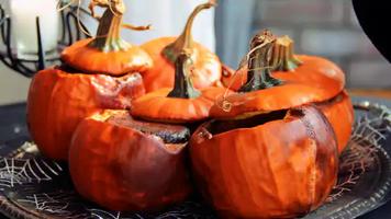 Dulce De Leche Molten Pumpkins