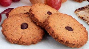 Coffee and Hazlenut Cookies