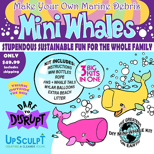 Family Mini Whale DIY Kit