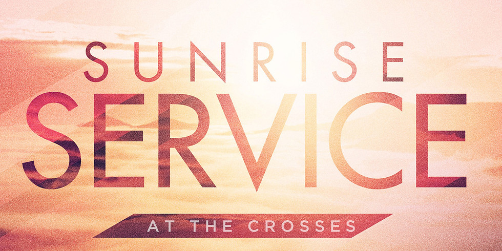 Easter Sunrise Service at the Crosses