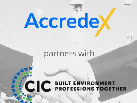 Accredex partners with the CIC to provide e-learning for industry professionals