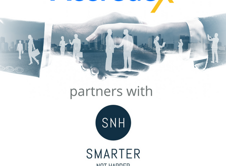 Accredex are pleased to announce its new strategic partnership with Smarter Not Harder (SNH)
