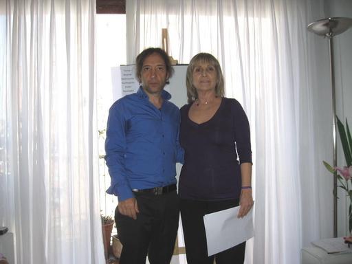 Pablo Telias y May De Chiara
