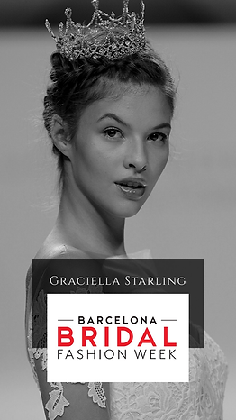 Desfile Barcelona Brial Week Graciella Starling Alta chapelaria