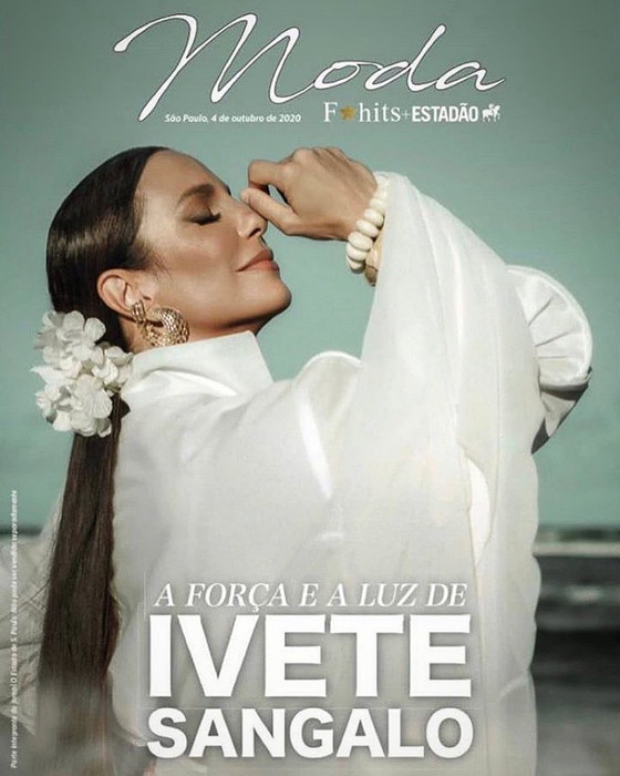 Ivente de Graciella Starling na capa do Estadão