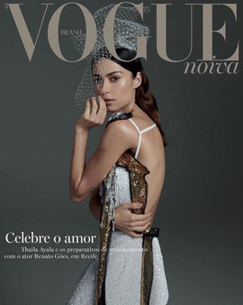 Capa Revista Vogue Noiva